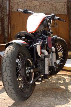 Sportster Harley Bobber RedStar Designed by Vida Loca Choppers in 2012