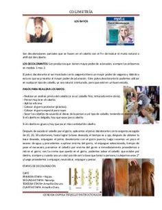 Documento de apoyo de colorimetria Hair Color Dark, Grunge Hair, Formulas, Coloring, Colored Hair Streaks, Hair Color Formulas, Hair Color Techniques, Colored Hair, Hair Type