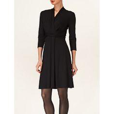 Buy Phase Eight Roxanne Wrap Dress, Black Online at johnlewis.com