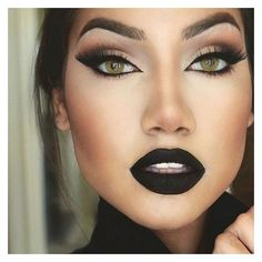 Instagram Post by ALINA (@makeupbyalinna) | WEBSTA - Instagram... ❤ liked on Polyvore featuring beauty products, makeup, eye makeup, eyebrow cosmetics, eye brow makeup, palette makeup, eyebrow makeup and gel eye liner