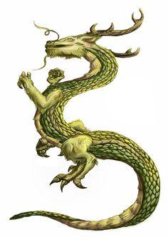 Oriental Dragon by Guitha