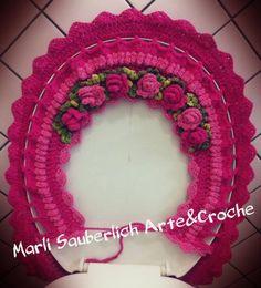 Owl Rug, Owl Bathroom, Crotchet Patterns, Crochet Designs, Projects To Try, Crochet Vase, Bathroom Mat, Crochet Organizer, Homemade Rugs
