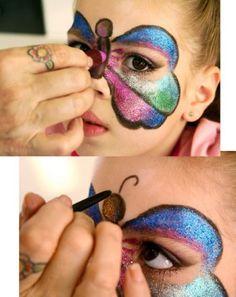 20140723 maquiagem infantil foto 452x570 Maquiagem Infantil