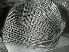 Knoll Harry Bertoia Wire Lounge Chair   Characteristic of the early environment at Knoll, Hans and Florence never demanded that Bertoia design furniture, but instead encouraged him to explore whatever he liked. They simply asked that if he arrived at something interesting, to show them.