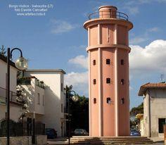 FASCISMO - ARCHITETTURA Borgo Vodice, Sabaudia, italy