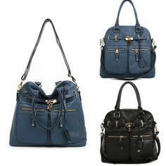 A8195 Leather Lady Women Handbag Purse Tote Hobo Satchel Shoulder Bag Sling Bag | eBay
