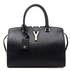 #hot  Bagroo 100% Genuine Leather Tote Bag Satchel Purse for Women Everyday Handbags