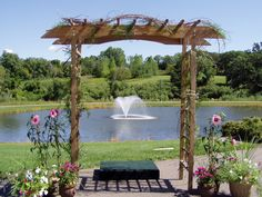 Spectacular Outdoor Wedding View At The Eagan Community Center