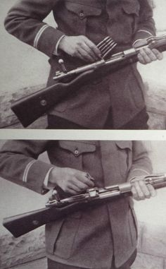 WWI, The Illustrated War News Dec 1914 (detail); The German Mauser