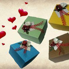 Cajas para regalos #Scrap