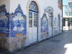 Estação de comboios( train station) Vila Franca de Xira, Portugal