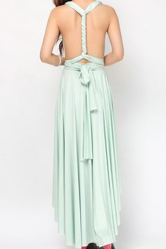 Sage High Low Bridesmaid dress Infinity Dress Convertible Dress [hl-11] - $49.50 : Infinity Dress | Convertible Dress Bridesmaid Dresses Online, TinnaInfinityDress High Low Bridesmaid Dresses, Bridesmaid Dresses Online, Convertible Dress, Infinity Dress, Dress P, Custom Made, 50th, Formal Dresses, Lime