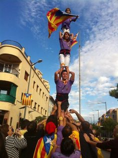 independència, castellers d'Altafulla. #40anys40moments