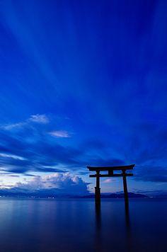 Lake Biwa, Shiga, Japan