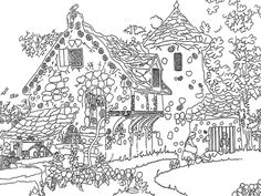 snoephuisje house colouring pages coloring pages for kids printable coloring pages adult coloring