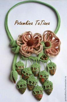 EyeCandy - Beautiful Crocheted Jewelry by Tatiana Potemkin featured in Sova-Enterprises.com Newsletter!