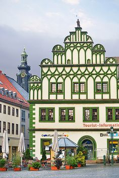 "Weimar, Thuringia, Germany. UNESCO World Heritage. I'd definitely recommend this city. A lot of great architecture and musical history sites to see. It also has a more ""small town"" feel to it, despite being a fairly large city."