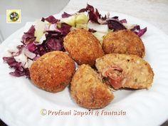 Polpette di carne con prosciutto e formaggio  Blog Profumi Sapori & Fantasia