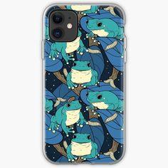 'Treefog Bonanza (blue)' iPhone Case by spazzynewton Iphone Wallet, Iphone 11, Frogs, Iphone Case Covers, Cover Design, My Arts, Art Prints, Printed, Awesome