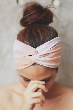 hairband... an essential in my beauty routine