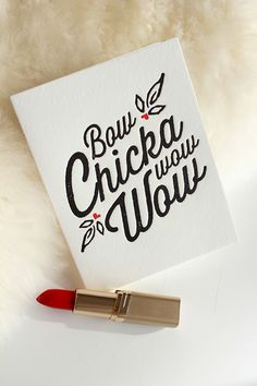 Adorable saucy letterpress greeting card. Perfect for Anniversary, Valentine's…