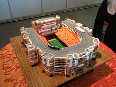 oh hey, Boone Pickens stadium. Orange Power, Race Car Cakes, Go Pokes, Family Cake, Oklahoma State University, Alma Mater, Awesome Cakes, Bright Ideas