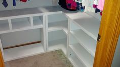 Closet Storage | Do It Yourself Home Projects from Ana White