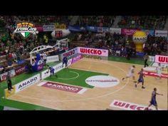 Materiał video z najlepszymi zagraniami kolejki Tauron Basket Ligi montowany na potrzeby PROBASKET.tv