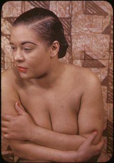 Billie Holiday, 1949. Photo by Carl Van Vechten. S)