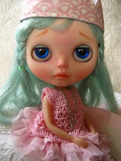IMG_2747...Blue Eyed Girl | by Lindy Dolldreams