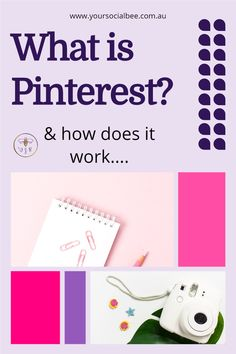 What is Pinterest and how do you use it for Business? If you are new to Pinterest and trying to understand what it's all about then this Pinterest overview will help you. #pinterestbeginners Marketing Tools, Email Marketing, Social Media Marketing, Digital Marketing, Website Optimization, Social Media Engagement, Pinterest For Business, Seo Tips, Management Tips