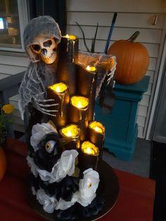 Halloween Outside, Outdoor Halloween, Holidays Halloween, Halloween Crafts, Halloween Party, Dollar Store Halloween, Halloween House, Halloween Stuff, Happy Halloween