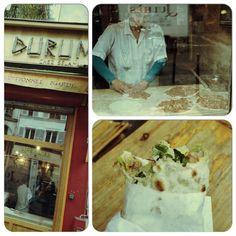 Kurdish Pizza?? Rue du Faubourg Saint Denis Paris 10th