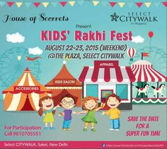 Kids Salon, Rakhi, Upcoming Events, Go Shopping, Save The Date, Good Times, The Selection, Presents, Family Guy