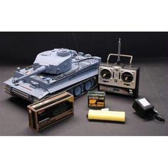 1-16 German Tiger Air Soft Rc Battle Tank(Metal Gear and Track Upgraded)