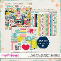 *FWP* Happy, Happy Bundle by Amanda Yi, Studio Basic and Two Tiny Turtles