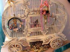 suzyhomefaker.blogspot.com  cinderella bird cage