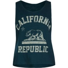 FULL TILT Cali Bear Girls Swing Tank #tillys #fulltilt #girls
