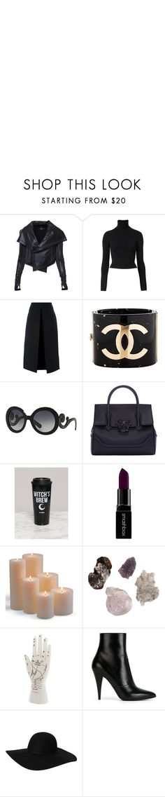 Bitchcraft by zguerrero on Polyvore featuring Witchery, McQ by Alexander McQueen, Yves Saint Laurent, Versace, Chanel, Monki, Prada, Smashbox, Frontgate and Coven