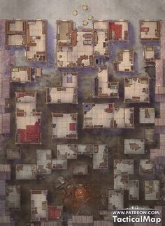 Fantasy City Map, Fantasy Town, Rpg Map, Dark Artwork, Map Pictures, Dungeon Maps, Dungeons And Dragons Homebrew, Map Design, City Maps