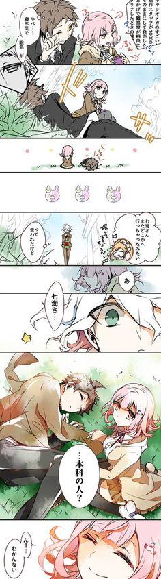 Estoy traumada con Nanami ;-;