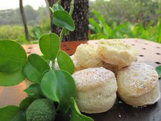"""Our Four Seasons Resort Chiang Mai Kaffir Lime Leave scones are ready to be served! They go very well with """"blooming flower tea"""" or other herbal teas like peppermint, lemongrass or camomile.    You can also come and try this perfect combination of an afternoon tea set at Sala Mae Rim restaurant. We look forward to seeing you soon! #TastesofThailand #KaffirLimeLeaves #FSTaste #FSChiangMai"""