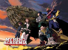 Anime Boku No Hero Academia Tenya Iida Ochako Uraraka Izuku Midoriya Shoto Todorrok My Hero Academia All Might Wallpaper