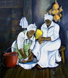 Your Source for Fine Black Art Prints and Posters by African American Artists, other Ethnic and Decorative Prints and and Posters at Everyday Discount Prices. Famous African American Artists, Annie Lee, Black Artwork, Afro Art, Black Women Art, Black Girls, Black Artists, Artist Art, African Art