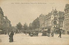 Boulevard de Clichy.