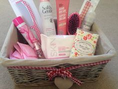 Guest toiletry basket