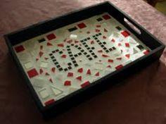 Google recherche and tables on pinterest - Modele mosaique pour plateau ...