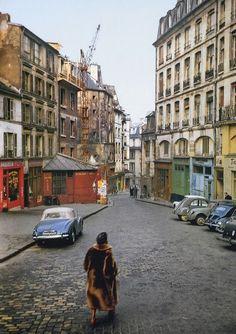 Paris dans les années 1950 - E Blumenfeldt
