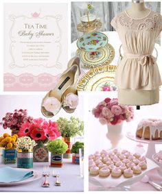 {TEA TIME Baby Shower} No theme prettier–or tastier–for a sweet, pastel baby shower!