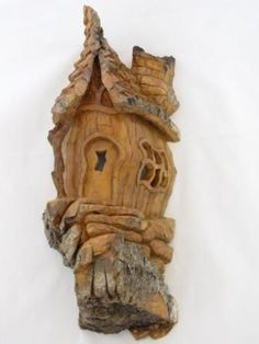 small bark carving pieces | Click thumbnails to view full-sized